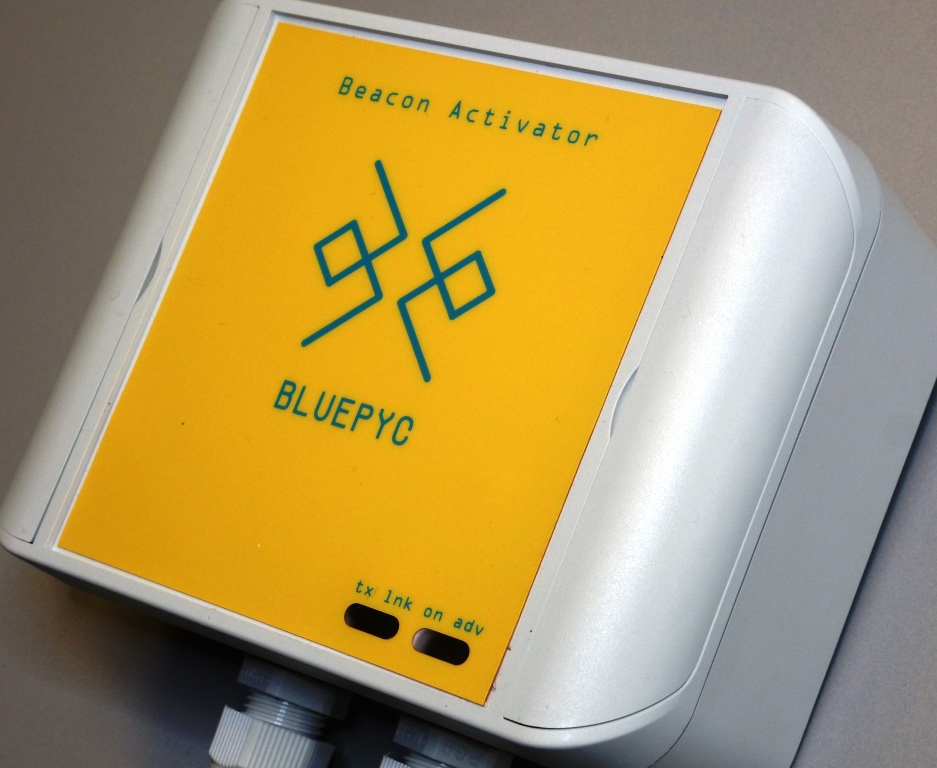 BluEpyc Beacon Bluetooth Low Energy Activator
