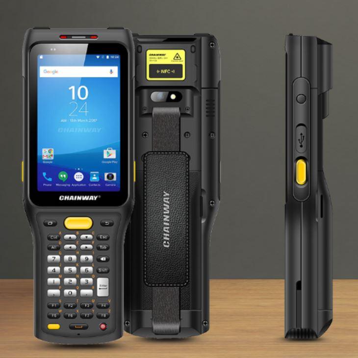 C61 - Mobile Computer Industriale Android 9.0 - Bar-code 2D e tastiera per data entry