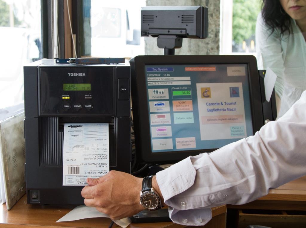 Ticket RFID stampati in Caronte & Tourist per lo Stretto di Messina