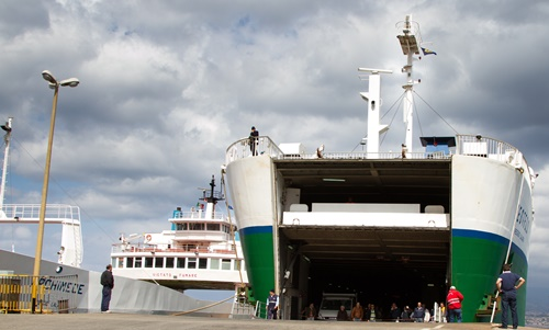 RFID sulle navi Caronte & Tourist
