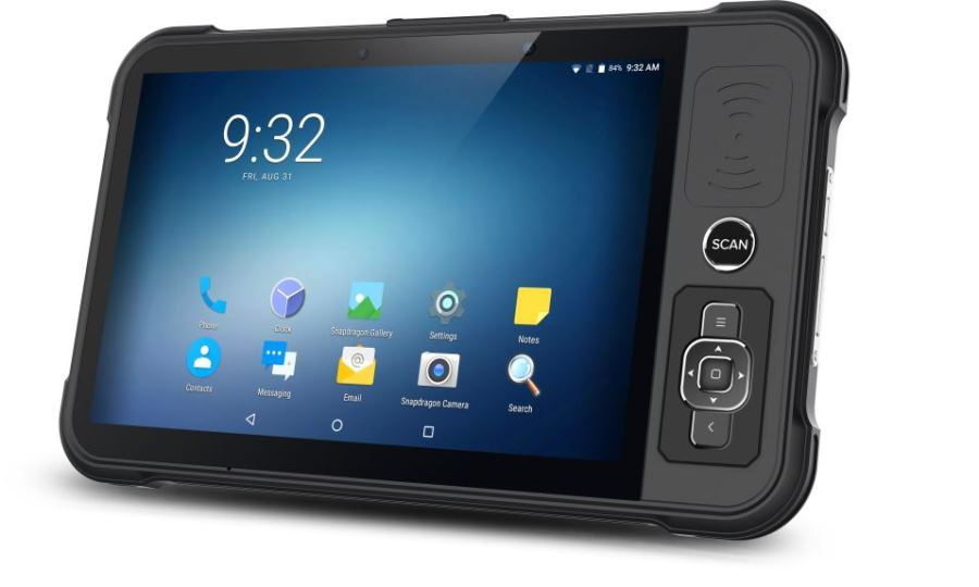 P80 - Industrial Rugged Tablet Android RFID ready - evidenza
