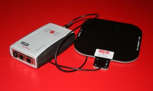 RED.MR80.FLY-E Mid-Range Reader RFID HF RedWave SmartFly Ethernet con antenna RFID HF 14x14 cm.