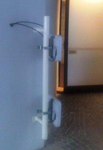 Parte del gate RFID per tracciare hand-free il transito delle casse fascicoli