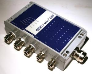 ISC.MRU200 - Mid Range Reader RFID UHF EPC Industriale con Multiplexer