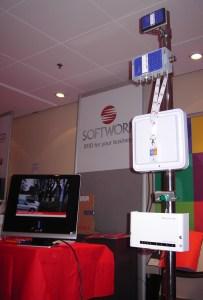 Area espositiva Softwork a Telemobility 2012