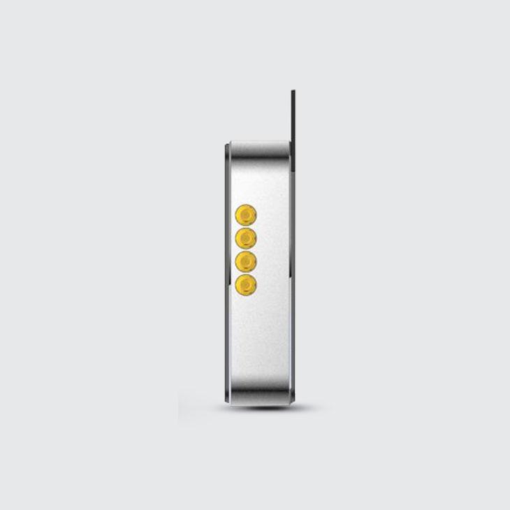 UR4 - RFID UHF Reader with 4 Mux Antenna - LAN Rj45 & RS232
