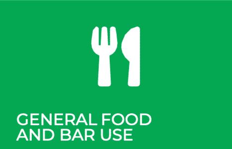 COSHH Green RFM Group General Food Bar Use