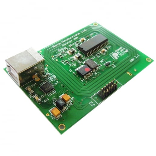 MICODE RFID Receiver Module + Integrated Antenna & USB output