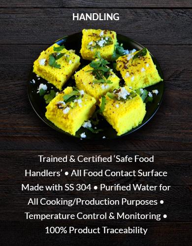 RFSPL Food Handling