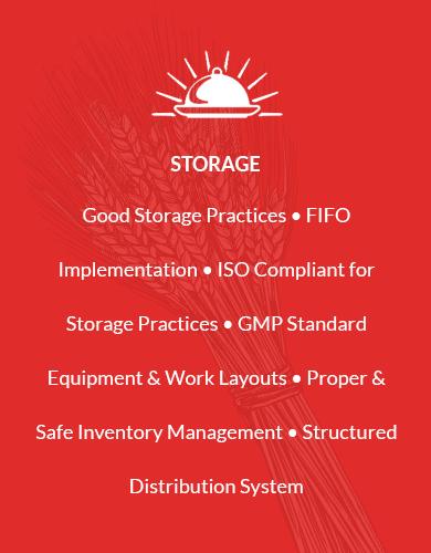 RFSPL Food Storage Standards