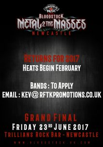 NEWCASTLE final ad copy 212x300 - Bloodstock Metal 2 The Masses returns for 2017