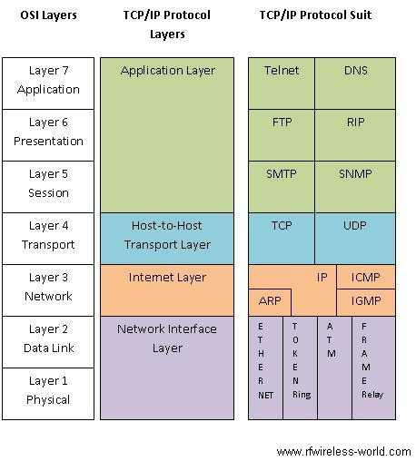 Protocols And Port Numbers