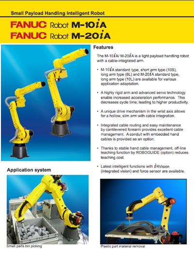 Fanuc-Machine-Tending-Robot-M-10 - RG Robotics | Advanced
