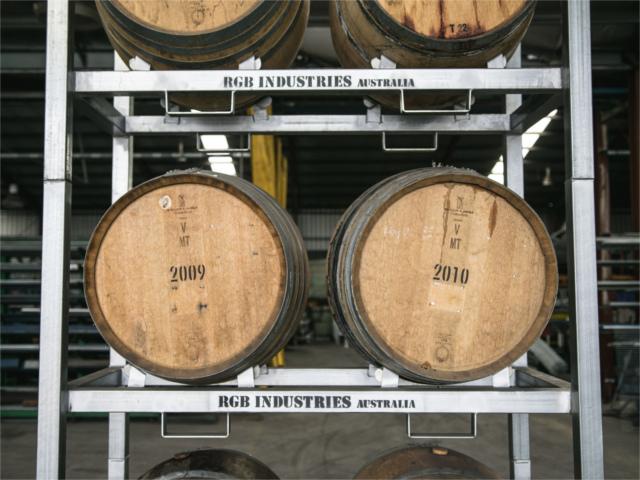 wine barrel racks rgb industries