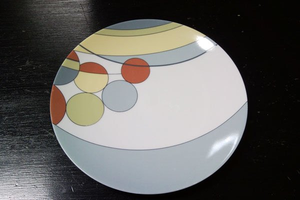 フランク・ロイド・ライトのデザインのお皿