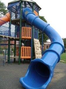 最近二人がはまってる公園Madison Park。