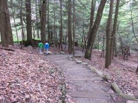その後、周辺のハイキングトレイルでネイチャーハイキングを楽しみました。