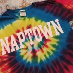 メリーランド州アナポリスの俗名なのでしょうか?親戚からこのTシャツを子供達はもらいました。お土産品売り場でささっと作ってくれるんですよー。