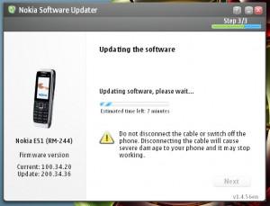Upgrade firmware