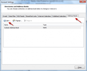 Outlook Zimbra LDAP 01