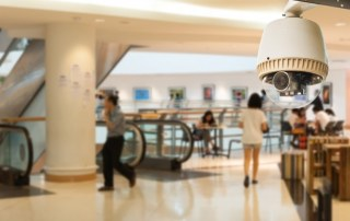 Security Camera In A Mall