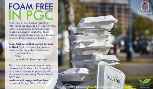 Foam Free Prince Georges County