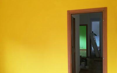 Ultimati i lavori di ristrutturazione di un appartamento nel quartiere Talenti a Roma