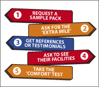 5 ways to evaluate your labels supplier