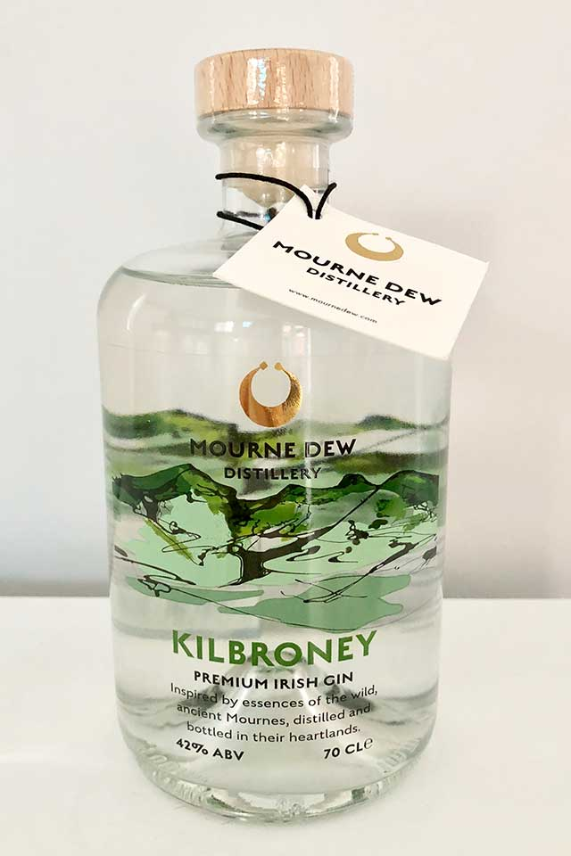 Kilbroney Gin Label