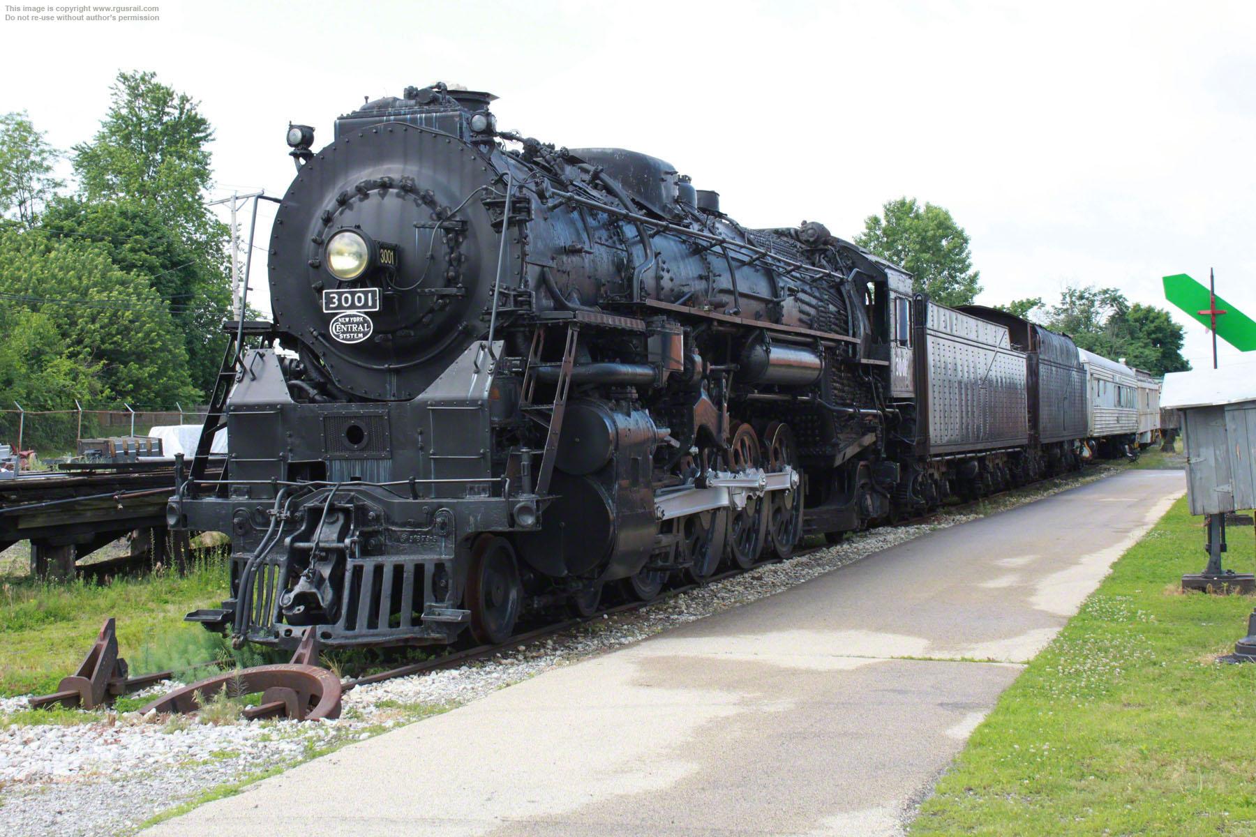 Surviving New York Central Railroad Locomotives