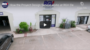 How the Proyect Design Service works at RGV Electrical Supply
