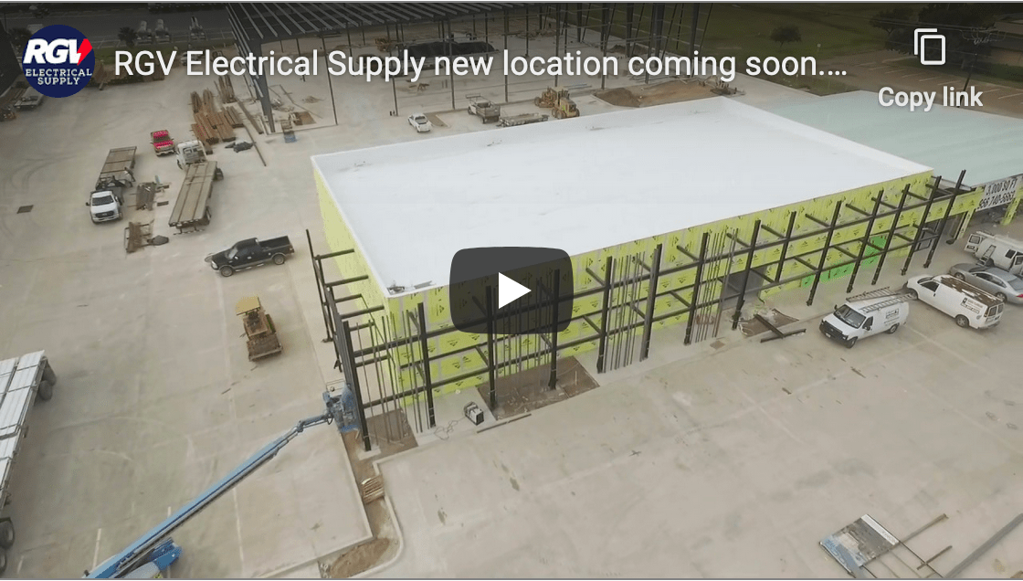 RGV Electrical Supply new location coming soon.Bigger Better and more convenient!