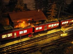 Station und Licht