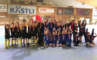 U11-Junioren holten zum Abschluss der Schweizer Meisterschaft Bronze!
