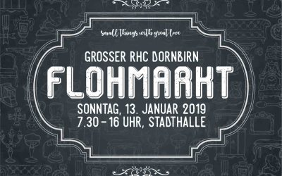 Großer RHC-Flohmarkt – small things with great love!