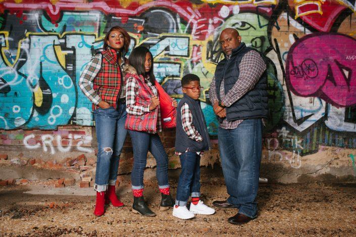 Portrait – The Corzine Family