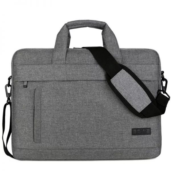 Laptop Tasche Umhängetaschen Schultertaschen Grau