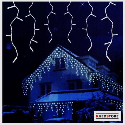 Lichterkette kaltweiss