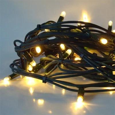 LED-Lichterkette-warmweiß