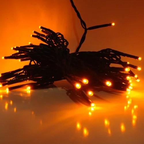 LED Lichterkette Orange innen und außen