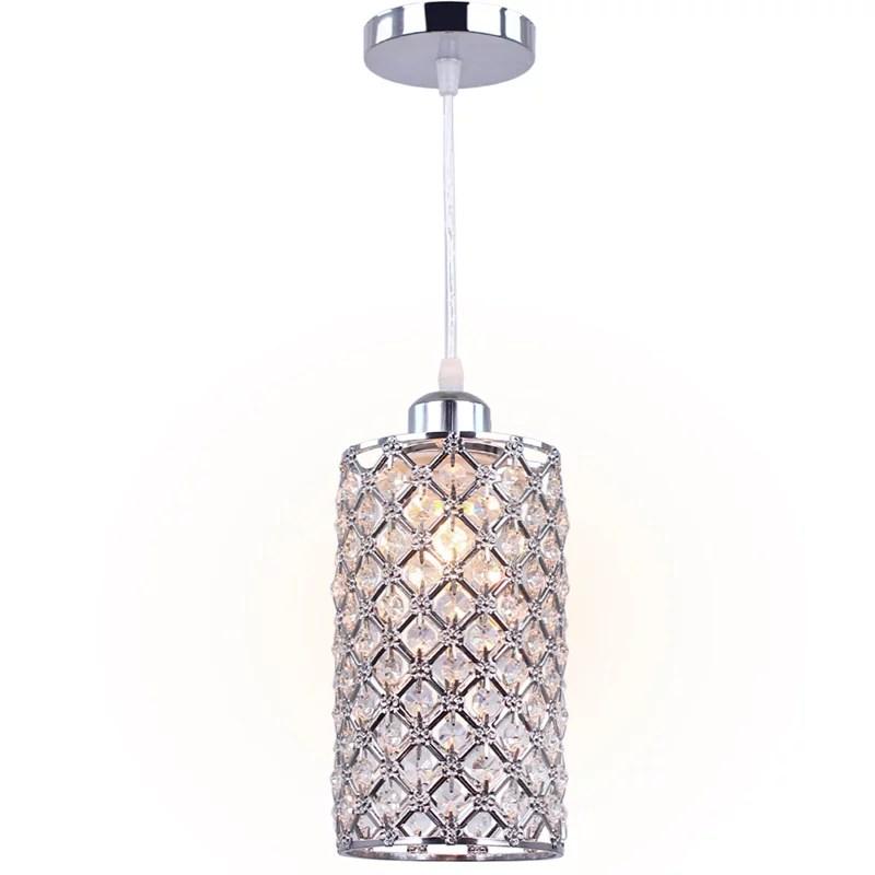 Deckenleuchte Deckenlampe Pendant Silber