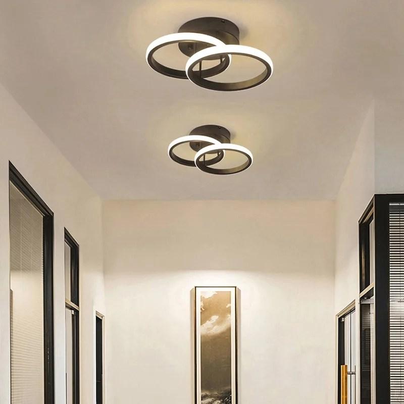 LED Deckenlampe Deckenleuchte Lampe Licht Modern Design warmweiß