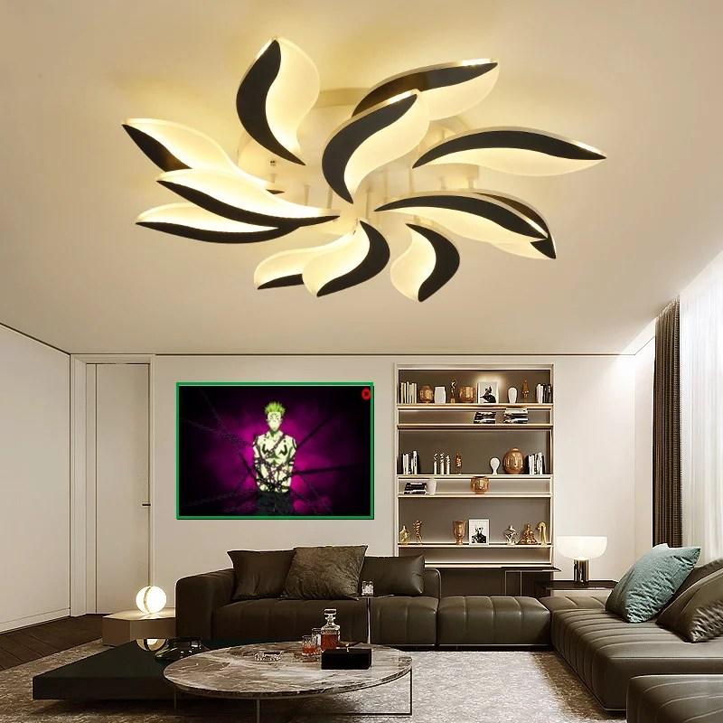 """LED Deckenlampe Deckenleuchte Modern Design warmweiß 88W 95cm """"C8048-12"""""""