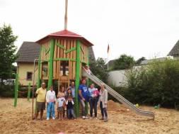 Neugestaltung des Spielplatzes