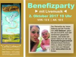 Benefiz – Veranstaltung – ONLINEFLYER1