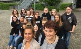Frau Baykut und Frau Schöneberg und Studierende 2