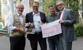 Theo Pagel, Uwe Schöneberg, Christopher Landsberg, Klaus Tiedeken von li…