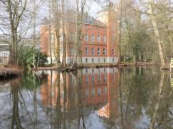 Burg Wissem Troisdorf Burggraben Winter 2019 Presse 1