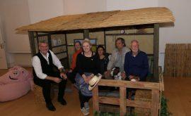 Presse Ausstellung Werke von Helme Heine mit Christoph von Radowitz (Sohn) Jennifer Walther-Hammel Rolf Mallat Michael Sönksen (30)