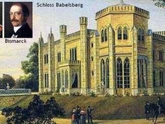 In Schloss Babelsberg lernten sich Wilhelm I. und Bismarck kennen